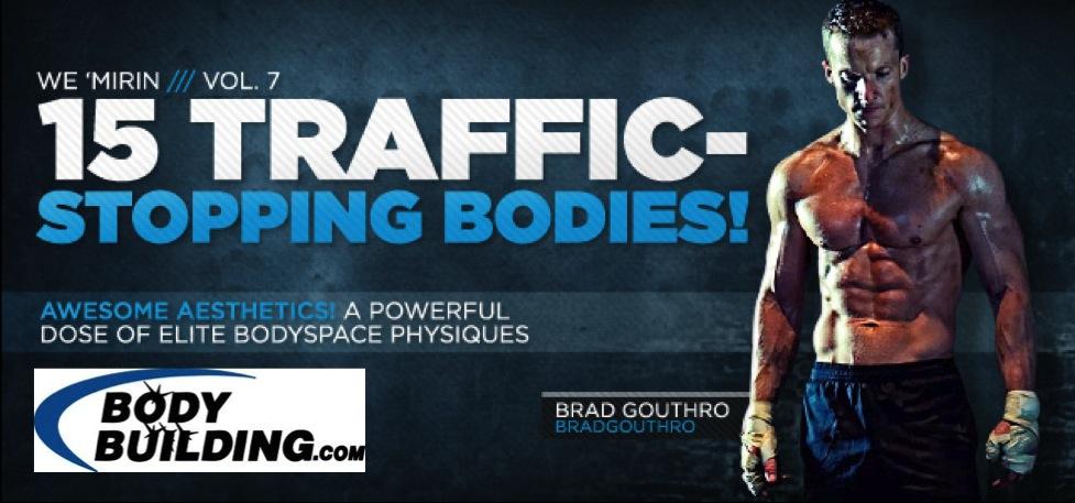 Brad Gouthro 15 Traffic Stopping Bodies BodyBuilding.com