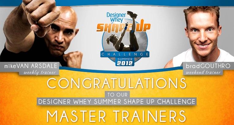Designer Whey Master Trainer Champ