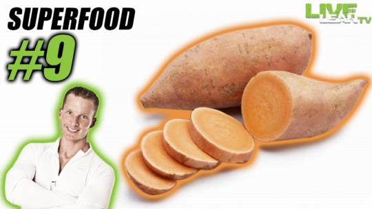 Sweet Potato - Fitness Super Food #9