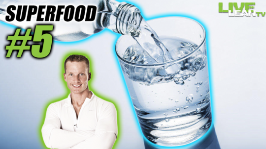 Water - Fitness Superfood #5