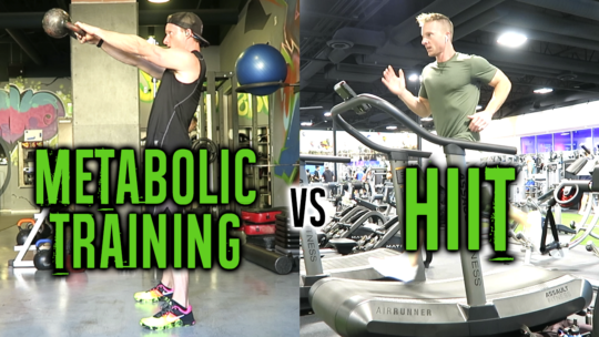 High Intensity Interval Training vs Metabolic Training vs LISS Cardio