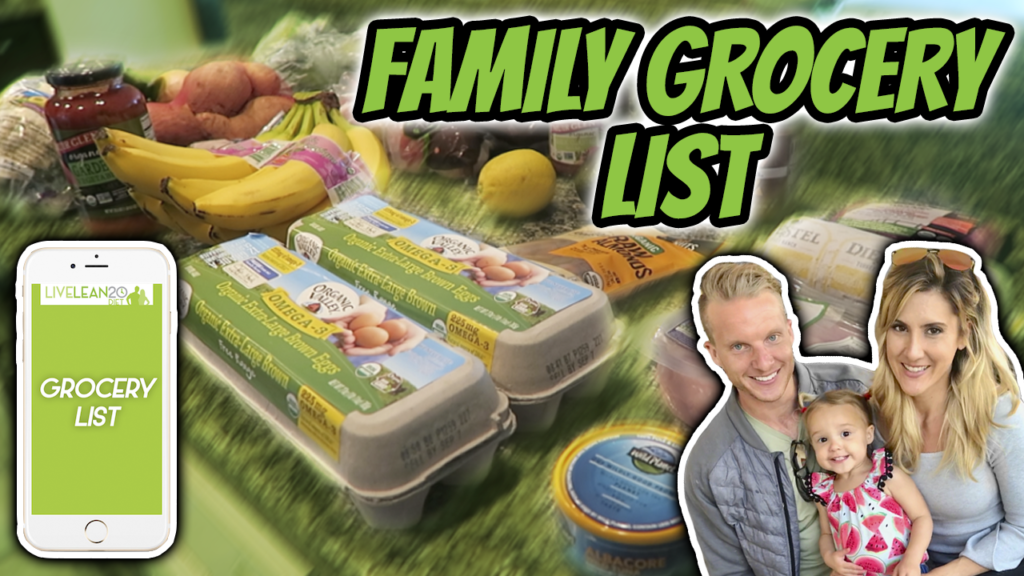 Family Healthy Grocery List