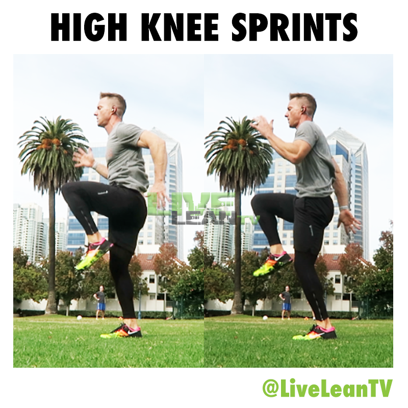 HIGH KNEE SPRINTS