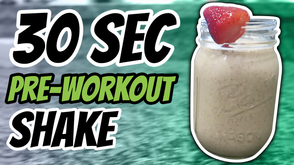 Best Pre Workout Shake For Weight Loss Recipe