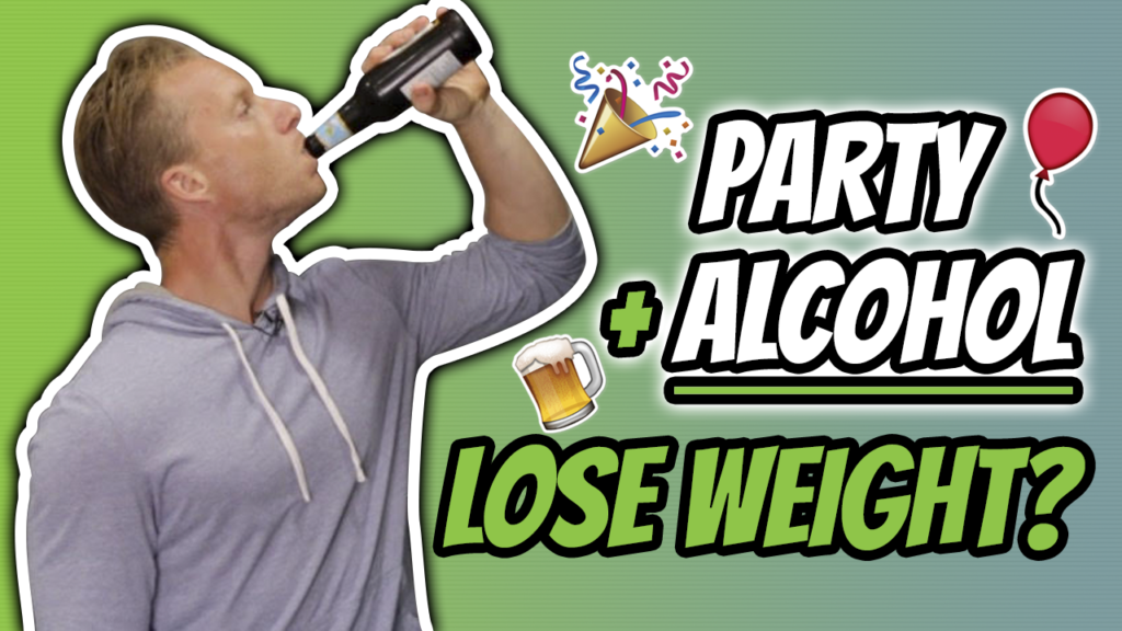 How To Party On A Diet (DRINKING ALCOHOL AND LOSING WEIGHT)