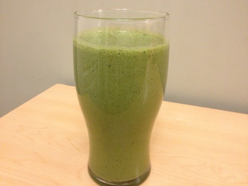 How To Make A Whey Protein Green Smoothie Recipe