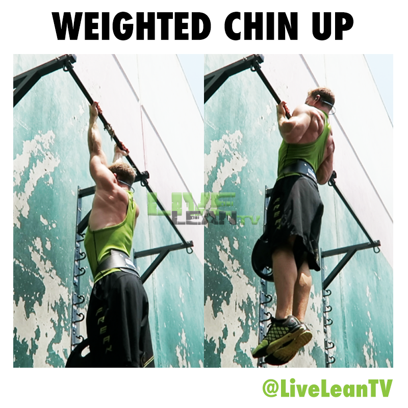 Weighted Chin Up