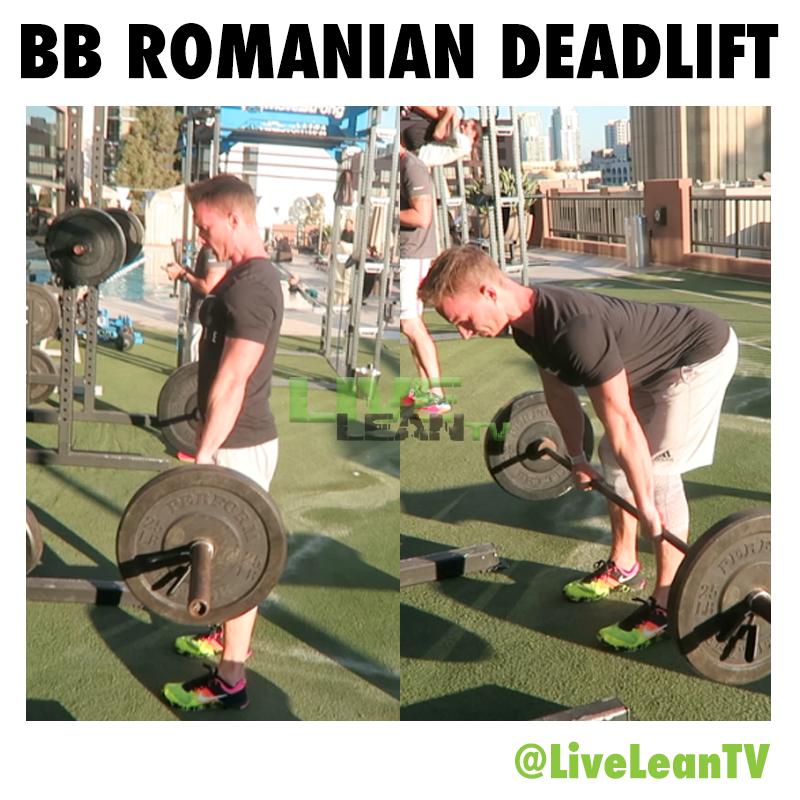 Barbell Romanian Deadlift