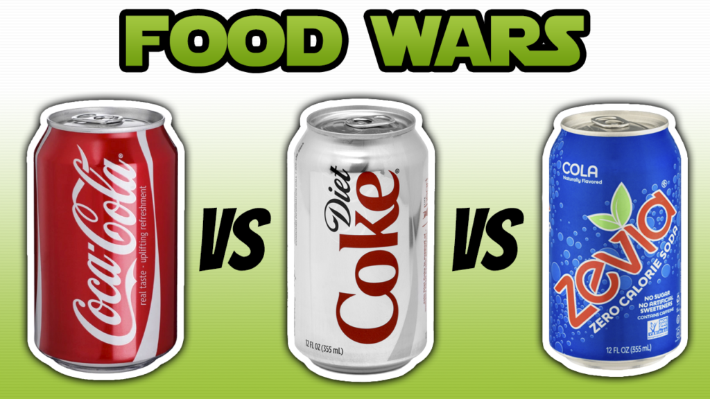 diet soda vs regular soda vs stevia soda