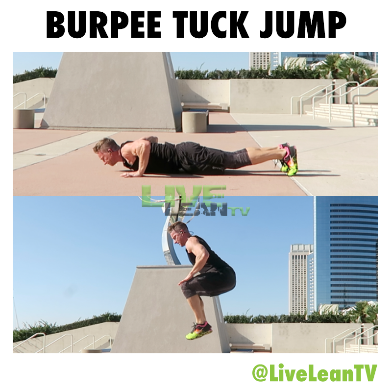 BURPEE TUCK JUMP