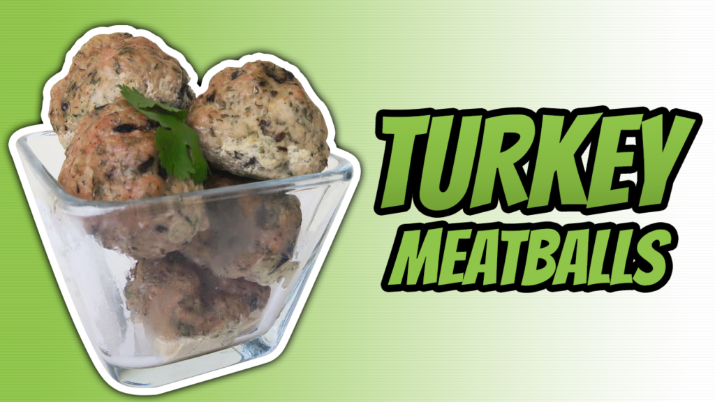 How To Make Turkey Meatballs In The Oven