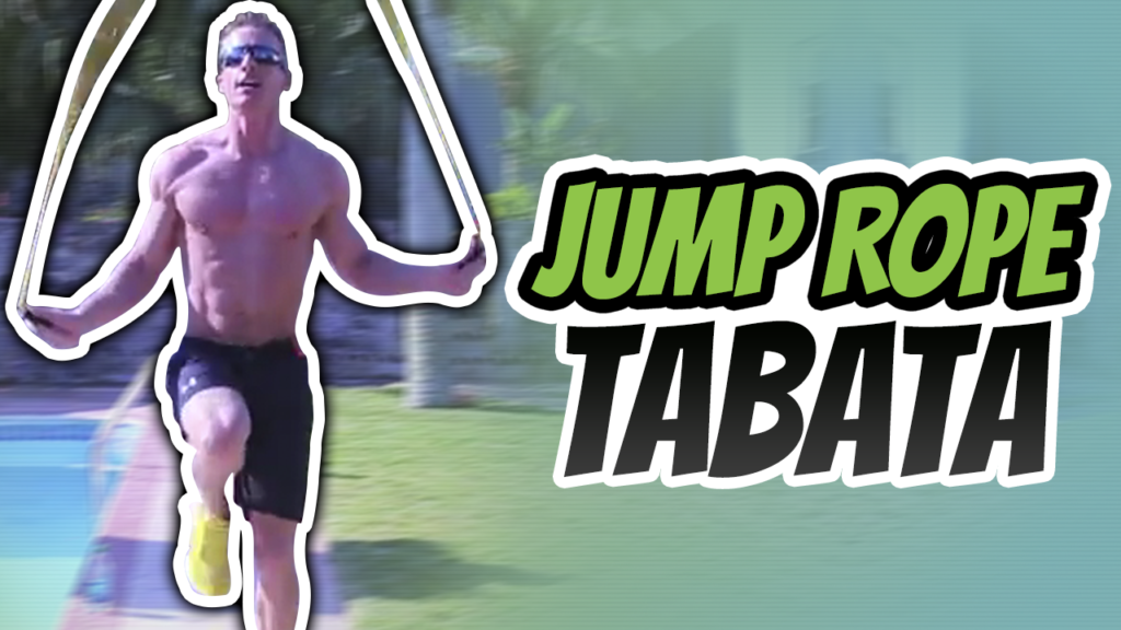 4 minute Jump Rope Tabata Workout For Weight Loss
