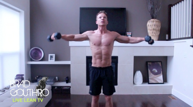 10 Minute Arms Workout With Dumbbells At Home