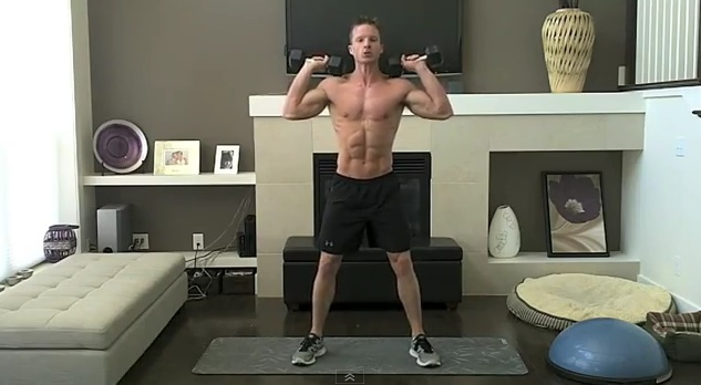 Home Dumbbell Workout To Get Lean And Sexy