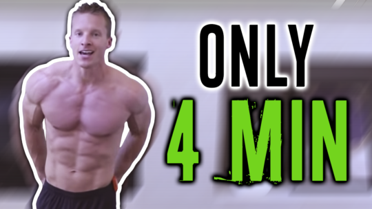 4 Minute Push Up Tabata Workout For The Chest