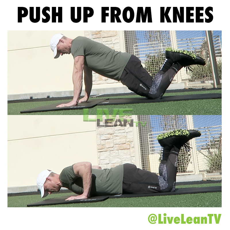 Push Up On Knees