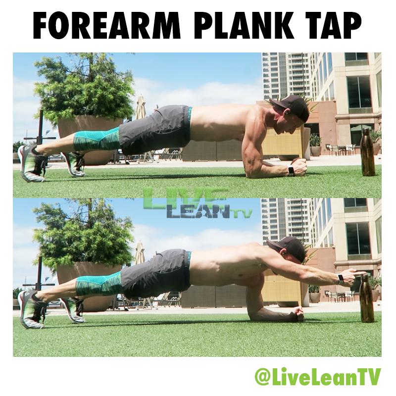 Forearm Plank Tap