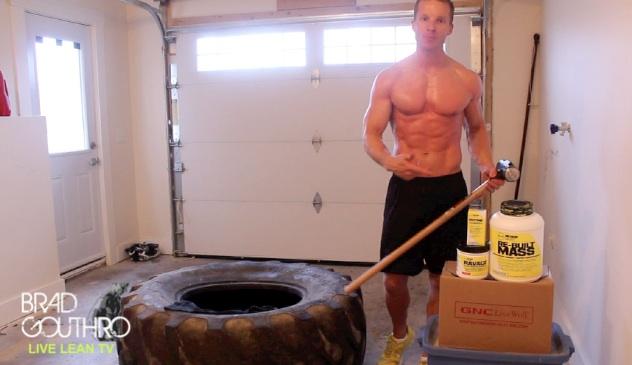 18 Intense Sledgehammer and Tire Exercises