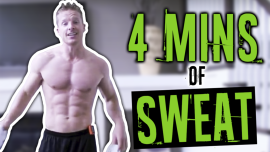 4 Minute Tabata Workout Routine To Get Sweaty