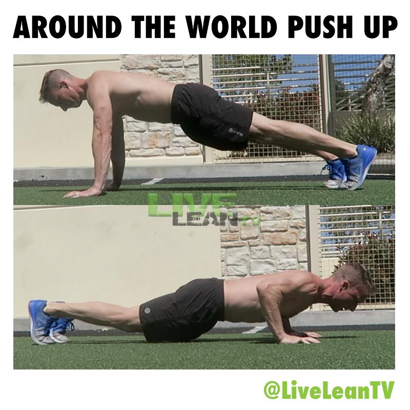 Around The World Push Up