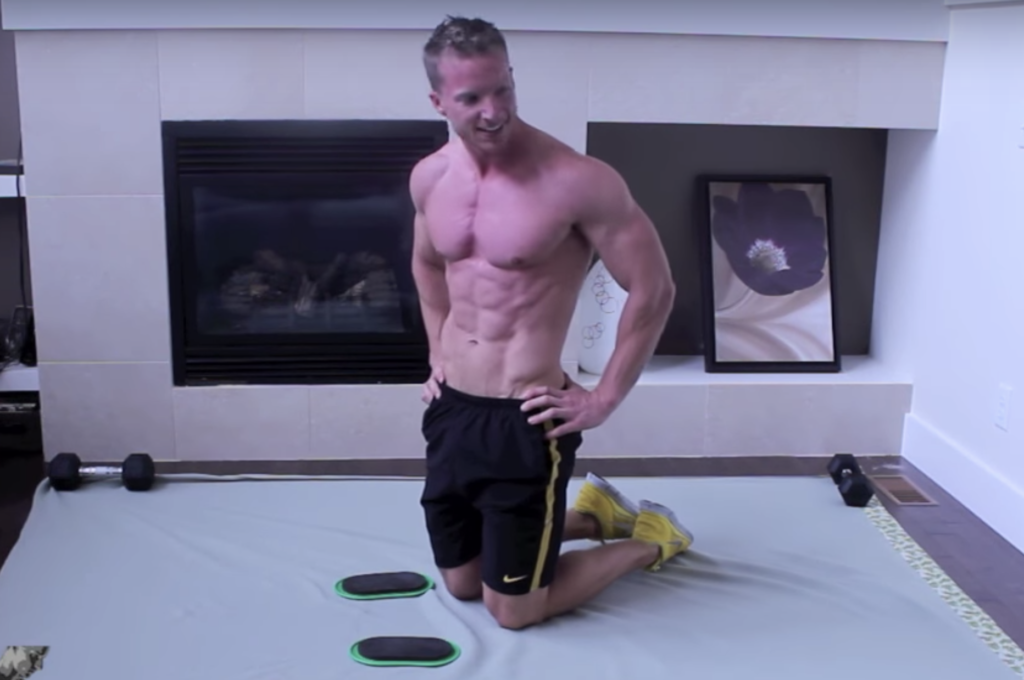 8 Best Slider Exercises To Add To Your Workout