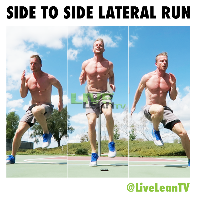 Side to Side Lateral Run