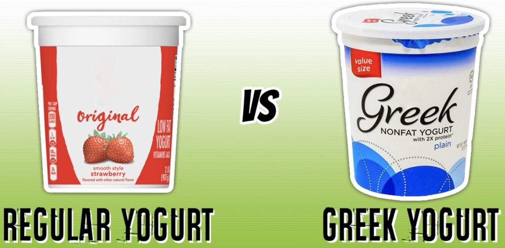 The Difference Between Greek Yogurt And Regular Yogurt