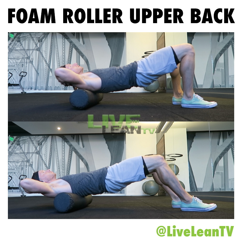 Foam Roller Upper Back Massage