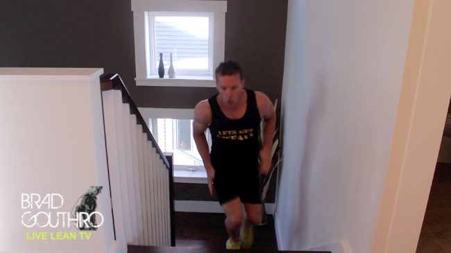 Fat Burning Home Stairs Workout For Beginners