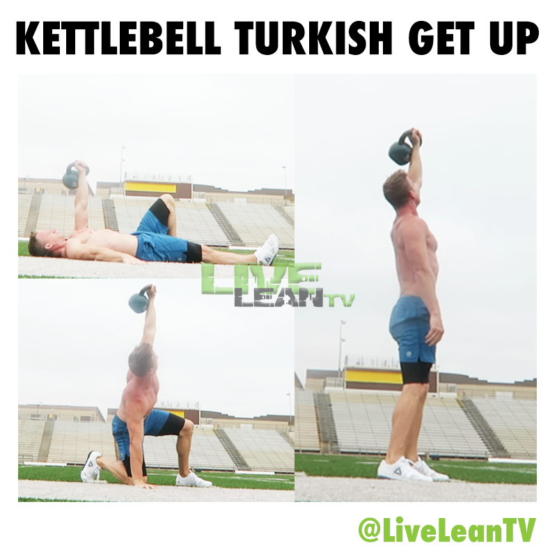 Kettlebell Turkish Get Up