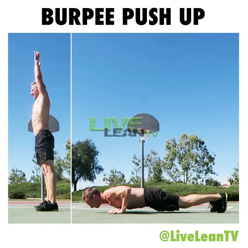 Burpee Push Up