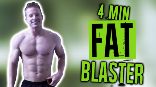 4 Minute Tabata Workout For Beginners At Home