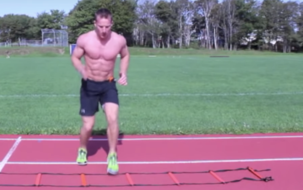 15 Minute Metabolic Training Agility Ladder Workout