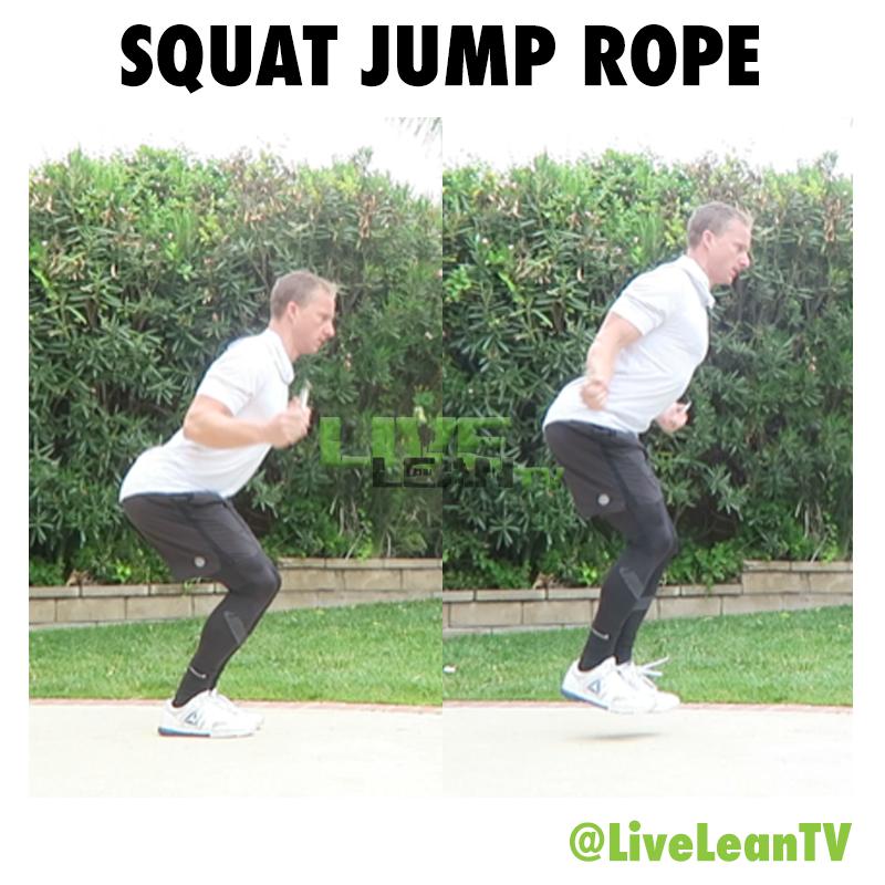 Squat Jump Rope