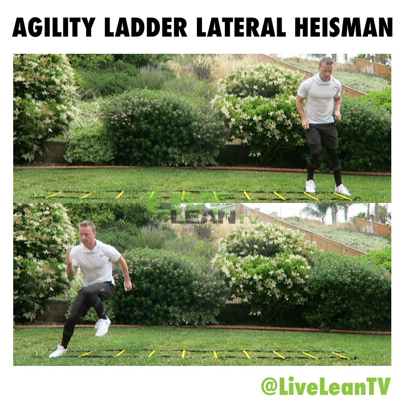 Agility Ladder Lateral Heisman