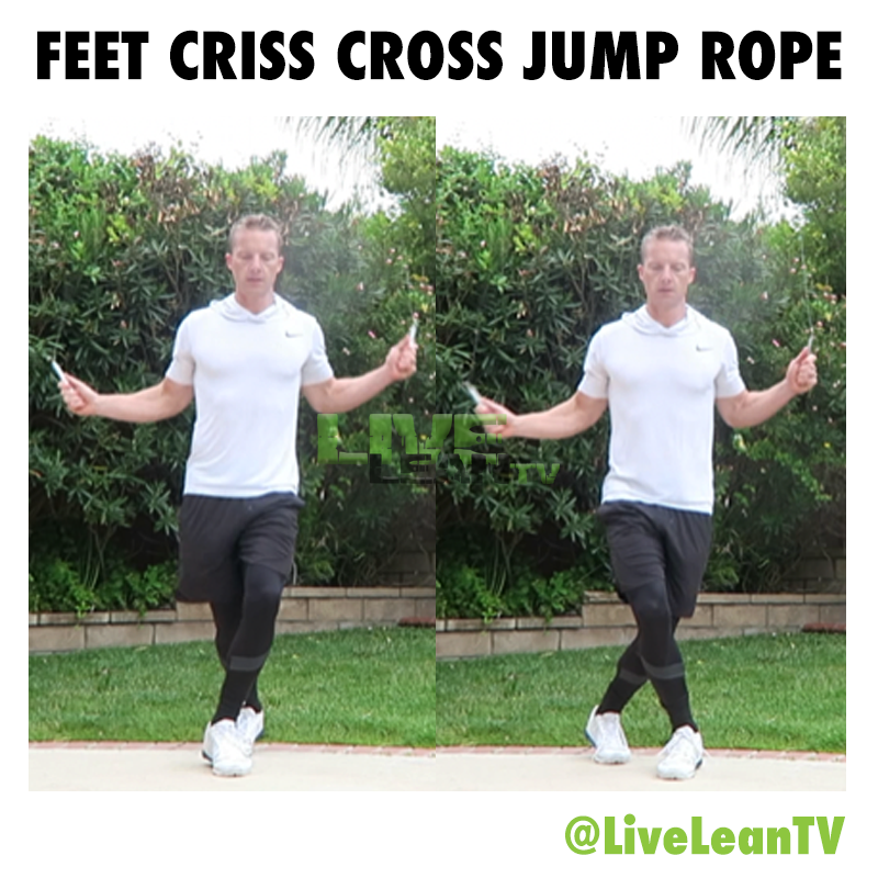 Feet Criss Cross Jump Rope