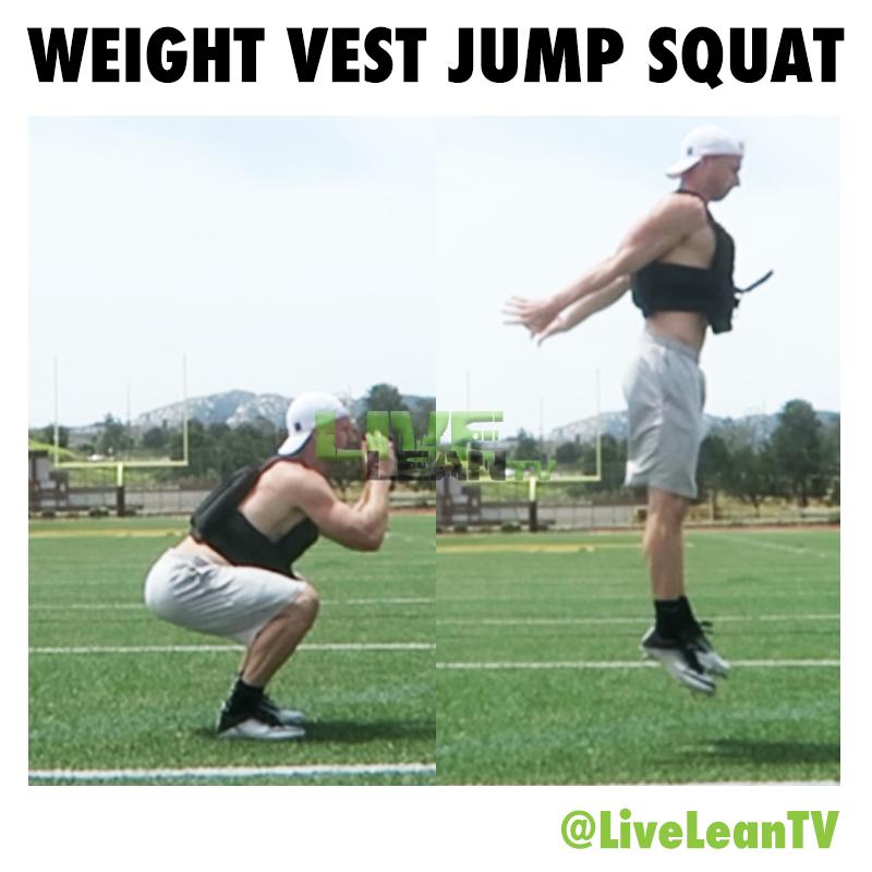 Weight Vest Jump Squat