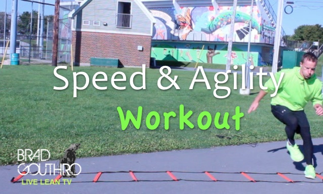 20 Minute Metabolic Training Workout With Jump Rope And Agility Ladder