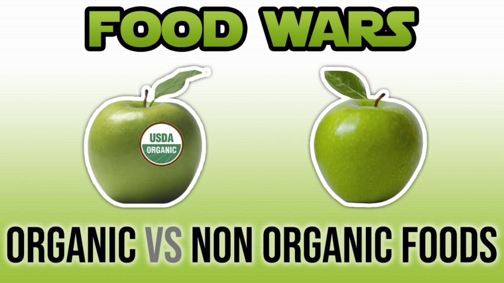 Organic vs Non-Organic Fruits And Vegetables
