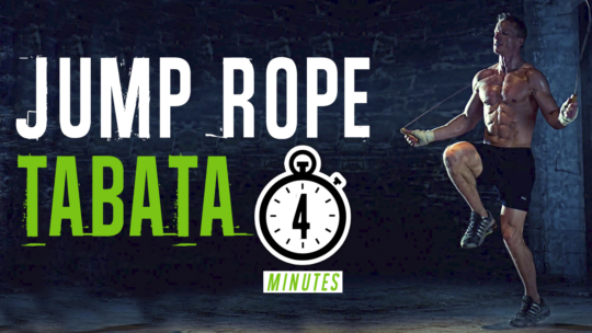 4 Minute Jump Rope Tabata Workout To Lose Weight Faster