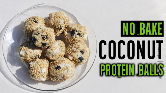 How To Make Coconut Protein Balls