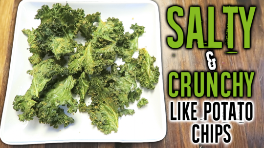 How To Make A Tasty Kale Chips Recipe In The Oven