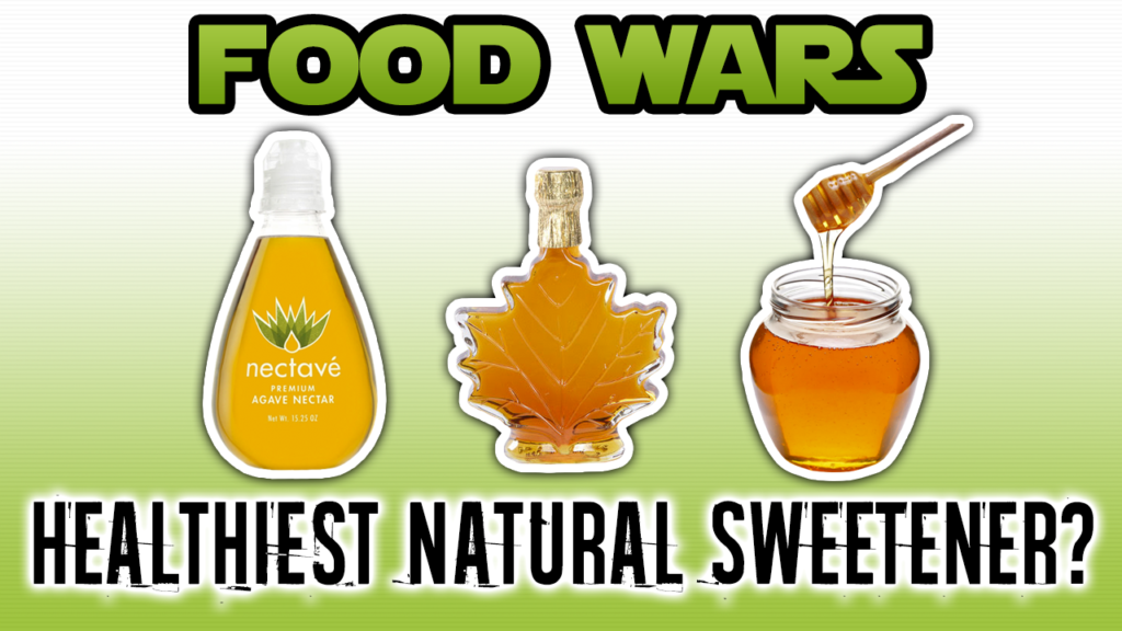 Healthiest Natural Sweetener: Maple Syrup vs Honey vs Agave Nectar