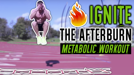 15 minute afterburn effect workout with an agility ladder