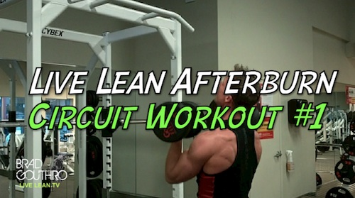 Afterburn Effect - Live Lean Afterburn Circuit Workout #1