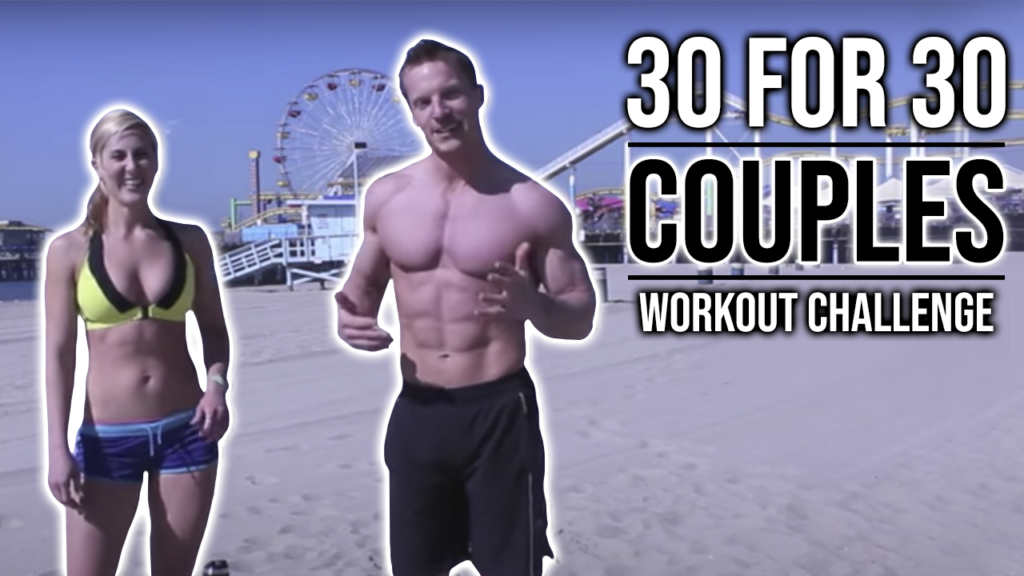 4 Minute Male vs Female Workout Rep Challenge