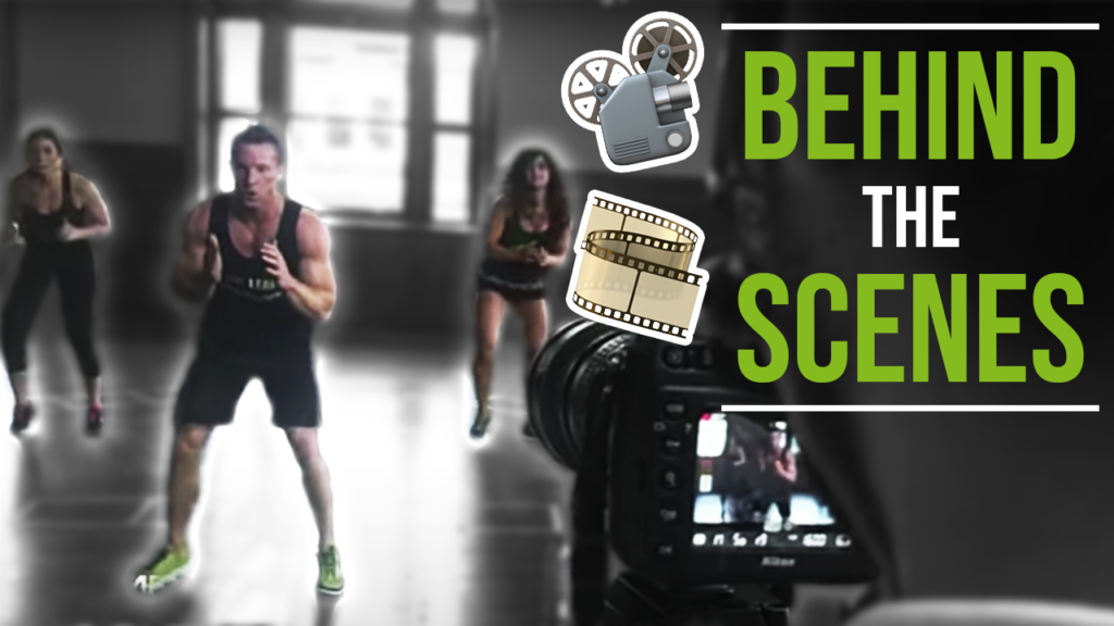Behind The Scenes Workout Filming Live Lean Meltdown