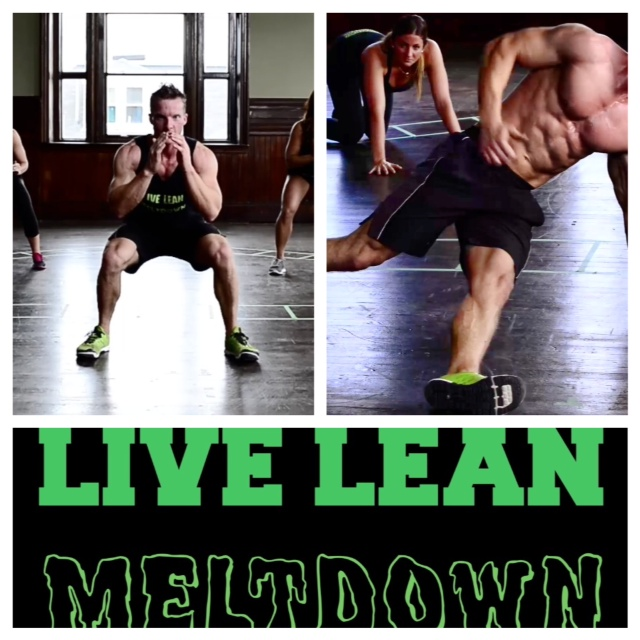 burn fat from home live lean meltdown