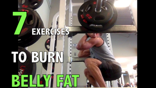 7 Best Exercises To Burn Belly Fat
