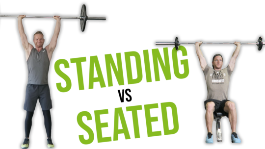 Standing Shoulder Press vs Seated Shoulder Press (WHICH IS BETTER)